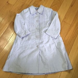 Gymboree vintage Tea Party Lavender Duster coat